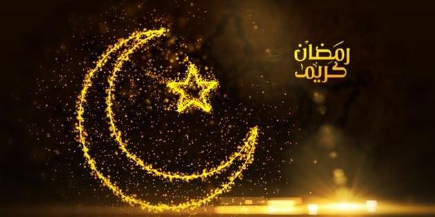 صورة خلفيات رمضان متحركة , مرحب شهر الصيام والمغفرة