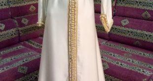 صورة قفطان مغربي عصري , اجمل واشهر لباس فى المغرب