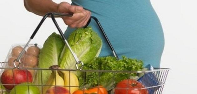 صورة تغذية الحامل في الشهر الاول , حافظي علي جنينك بغذاء صحي