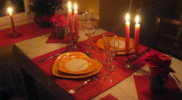 صورة عشاء رومانسي في البيت , افكار رائعة لاجمل عشاء ملئ بالحب والمشاعر