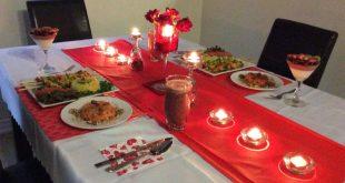 صورة عشاء رومانسي , افضل الافكار الجديدة والمميزة لعمل عشاء رومانسي لزوجك