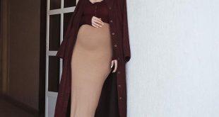 صورة ملابس للحوامل المحجبات , مجموعة مميزة من الملابس المريحة للحوامل
