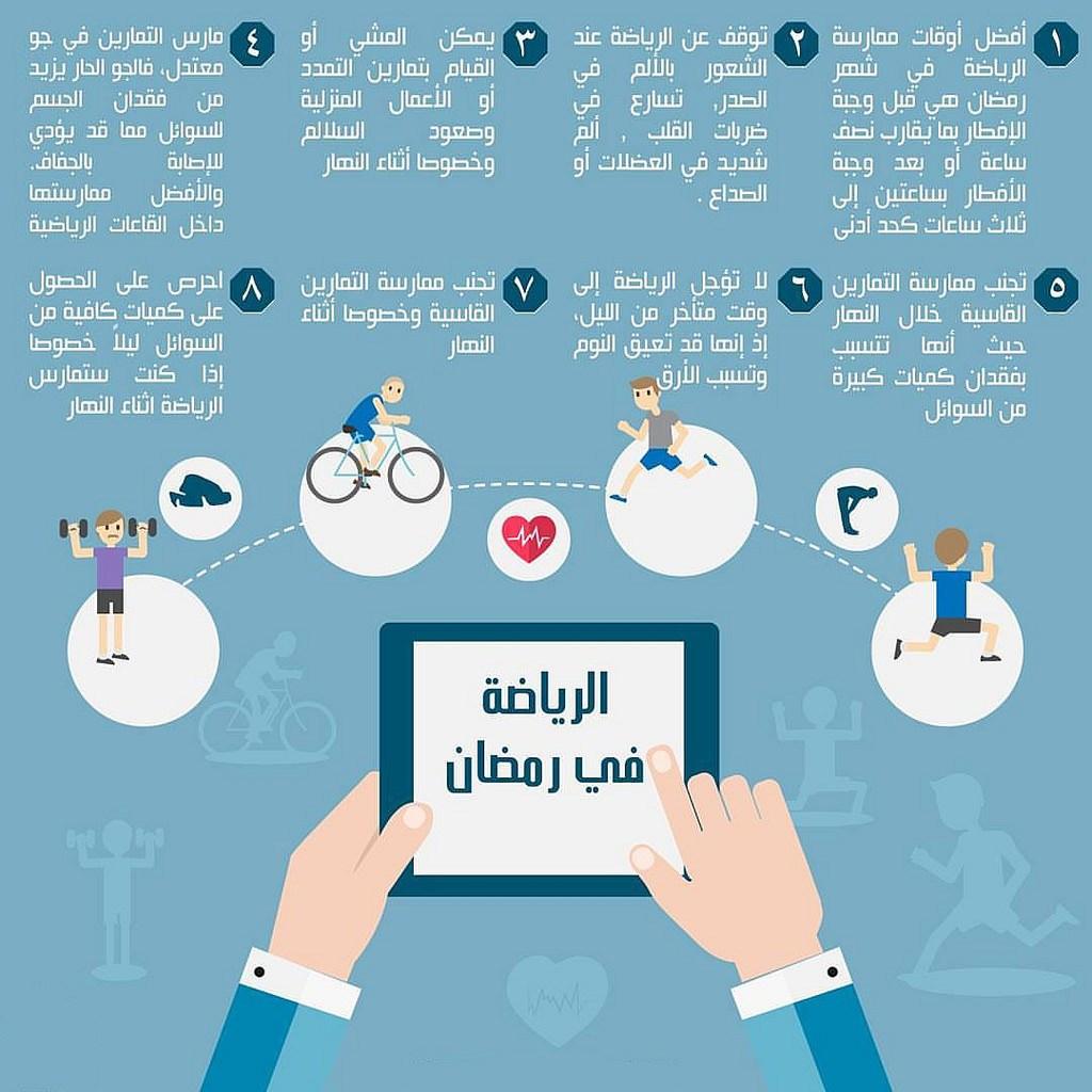صورة الرياضة في رمضان , نصائح هامة للحفاظ على الوزن فى شهر رمضان 958 1