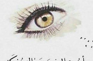 صورة كلام عن العيون , كيف تعبر لغة العيون عن الحب