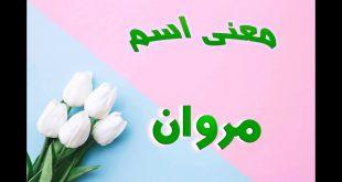صورة معنى اسم مروان , صفات جميله ومميزه لحامل إسم مروان