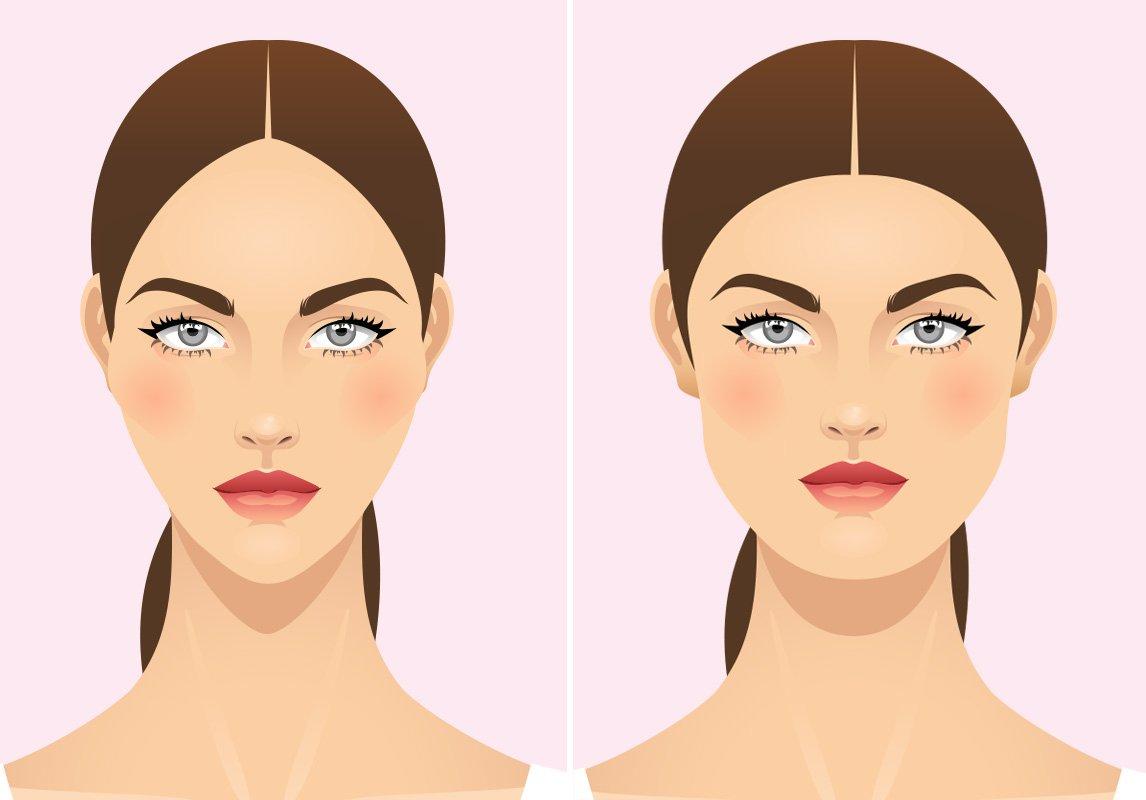 صورة تنحيف الوجه , أفضل الطرق الطبيعية الآمنة لتنحيف الوجه