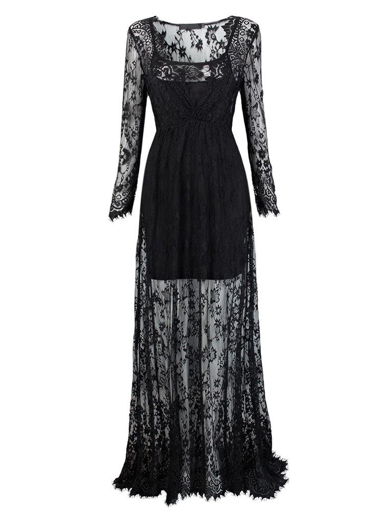 صورة موديلات فساتين دانتيل , لكل امرأة تحب الاناقة و التميز إليكي هذه الفساتين الرائعة 5323 1