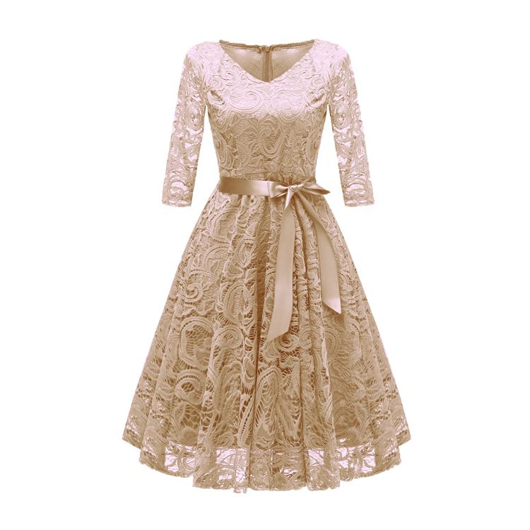 صورة موديلات فساتين دانتيل , لكل امرأة تحب الاناقة و التميز إليكي هذه الفساتين الرائعة 5323 4